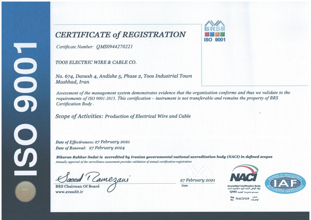 ISO900012015